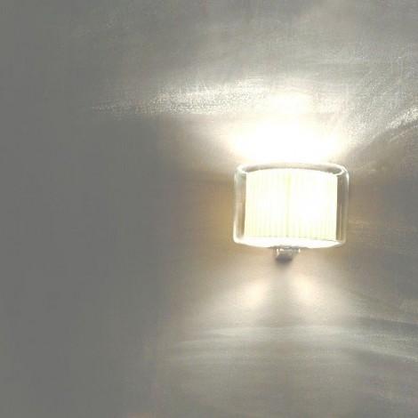 Lámpara Aplique Mercer A Blanco Perla Liso Marset