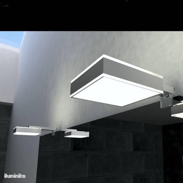 Aplique ba o led matrix driver interno exlum - Aplique bano led ...