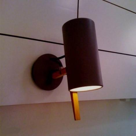 Lámpara Aplique Scantling A Negro Marset