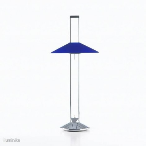 Sobremesa Led Regina Vidrio Azul