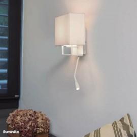 Aplique Vesper con Lector LED