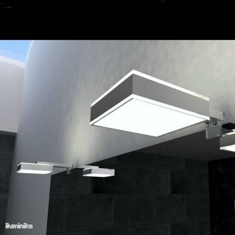 Aplique Baño Led Matrix Driver Interno