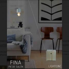 Lámpara de Pie Fina