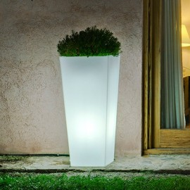 Macetero iluminado Melisa Outdoor