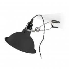 PEPPER Lámpara pinza negro