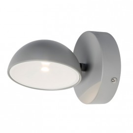 Aplique Led Mileto Gris