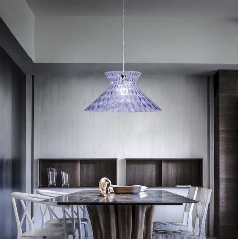 Colgante Sugegasa Azul Transparente, Studio Italia Design