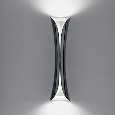 1373010A, Lámpara Aplique Cadmo Led Parete Negro/Blanco Artemide
