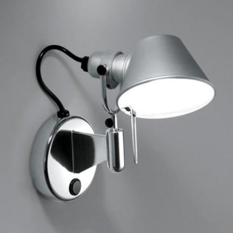 A044050, Lámpara Aplique Tolomeo Micro Faretto Interruptor Artemide