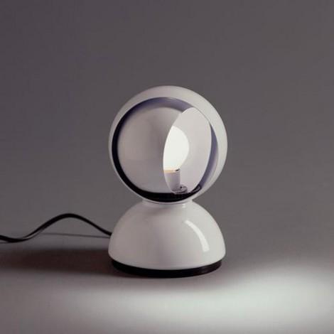 0028010A, Sobremesa Eclisse Blanco, de sobremesa, lámpara Artemide