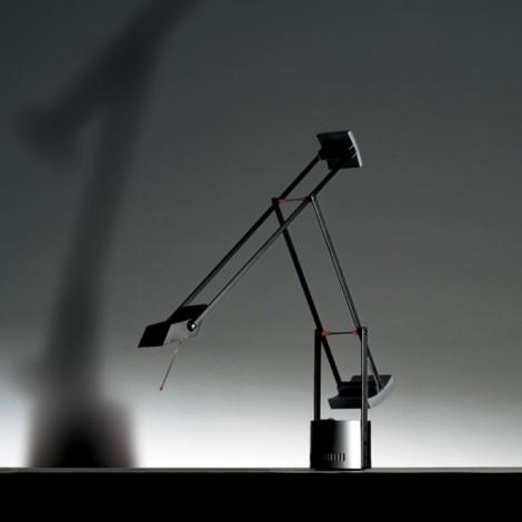 A008100, Lámpara Sobremesa Tizio Micro Negro Artemide