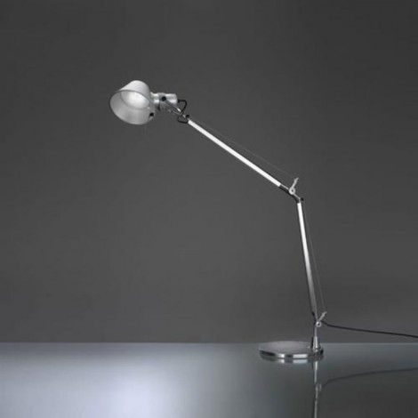 A004800+A004030, Lámpara Sobremesa Tolomeo LED Aluminio Artemide