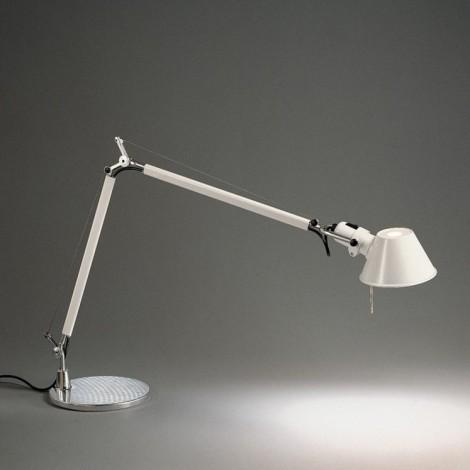 A005920+A008620, Lámpara Sobremesa Tolomeo Mini Blanco Artemide