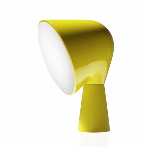 200001 55, Lámpara Sobremesa Binic Amarillo Foscarini