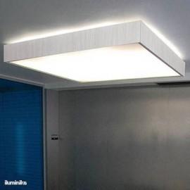 Plafón Quadrat 120 x 120 Blanco