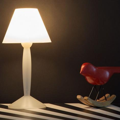 F6250009, Lámpara Sobremesa MISS SISSI Blanco Flos