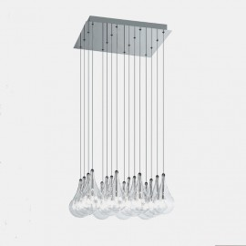 Colgante Led Drop Cuadrado