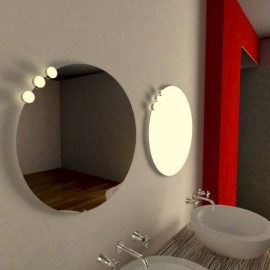 Aplique Baño LED Ball 50/80 Driver Interno