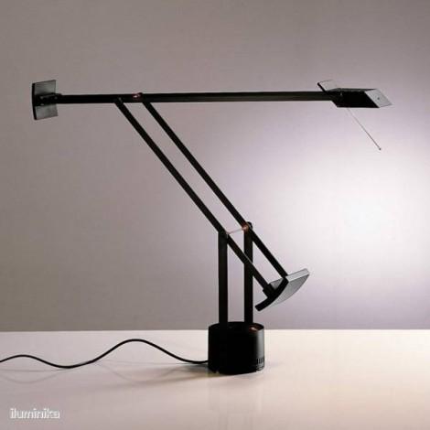 A009010, Lámpara Sobremesa Tizio Negro Artemide