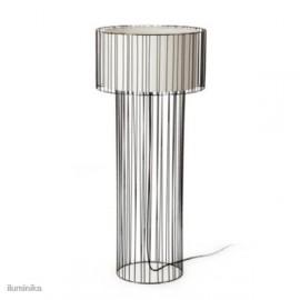 Lámpara de pie Linda Negro