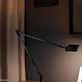 Aplique Kelvin LED Soporte a pared Negro Brillante