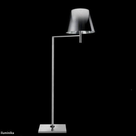 Lámpara de pie KTRIBE F1 CROMO/ALUMINIZADO PLATA
