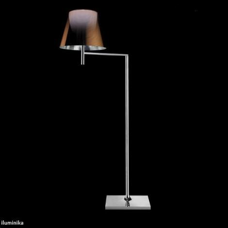 Lámpara de pie KTRIBE F1 CROMO/ALUMINIZADO BRONCE