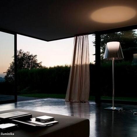 Lámpara de pie KTRIBE F2 DIM CROMO/FUME