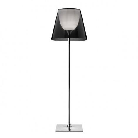 Lámpara de pie KTRIBE F3 DIM CROMO/FUME