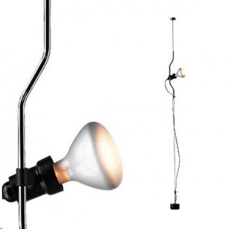 F5600030,Lámpara Colgante PARENTESI Dimmer Negro Flos