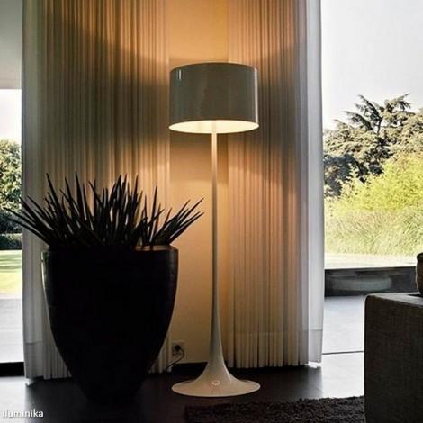 Lámpara de pie SPUN LIGHT F MUD