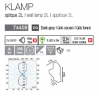 Aplique Klamp 2L