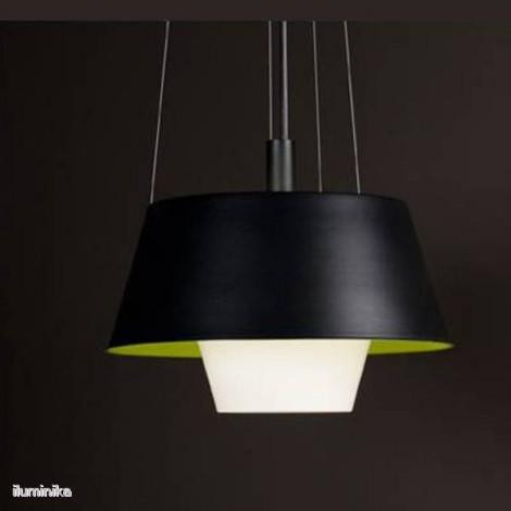 Colgante Tanuki Gr Negro/Verde-Blanco