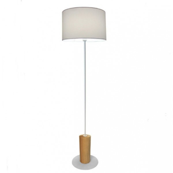 L mpara de pie led wood lightcinc - Lamparas led de pie para salon ...