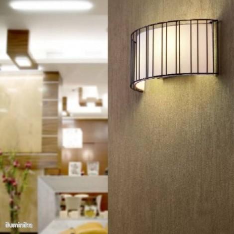 29310 Faro, Aplique Linda Negro, lorefar,lamparas de diseño,negro,