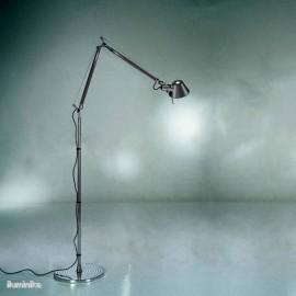 Lámpara de pie Tolomeo Terra Negro