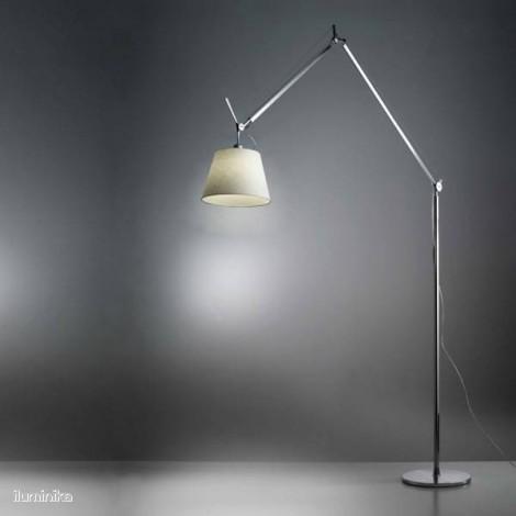 Lámpara de pie Tolomeo Mega Tierra Pergamino 320