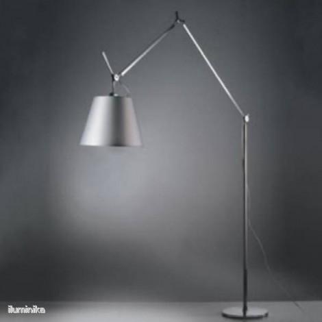 Lámpara de pie Tolomeo Mega Tierra Raso 320