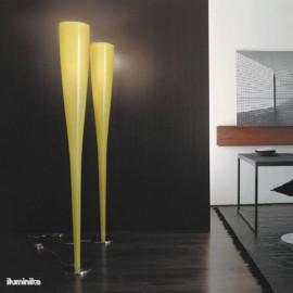 Lámpara de Pie Mite Amarillo