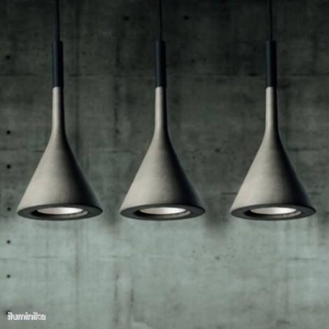 Lámpara Colgante Aplomb Gris, 195007L 25 Foscarini