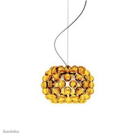 Lámpara Caboche Pequeña Amarillo Oro, 138027 52 Foscarini