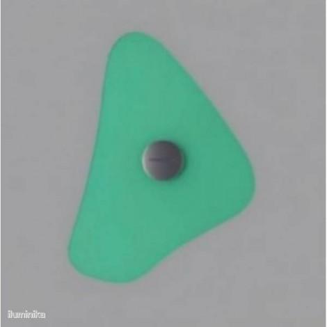 Aplique Bit 4 Verde, 430054 Foscarini