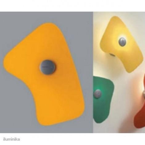 Aplique Bit 5 Naranja, 430055 Foscarini