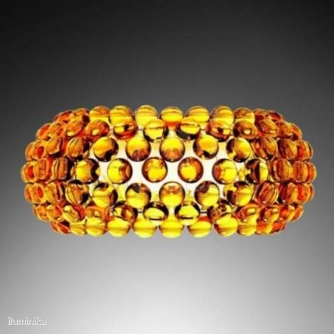 Aplique Caboche Mediana Amarillo Oro, 138005 52 Foscarini