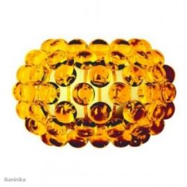 Aplique Caboche Pequeña Amarillo Oro