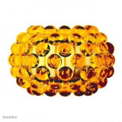 Aplique Caboche Pequeña Amarillo Oro, 138025 52 Foscarini