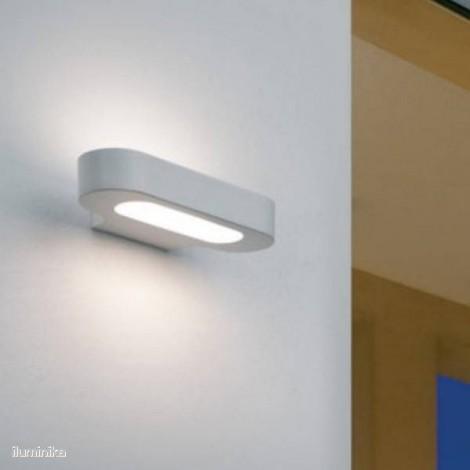 Lámpara Aplique Talo Parete Halo Blanco, 0613010A Artemide
