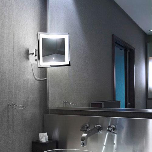 Espejo Bano Aumento Con Luz.Iluminando Estancias Con Iluminika Iii Bano Lamparas