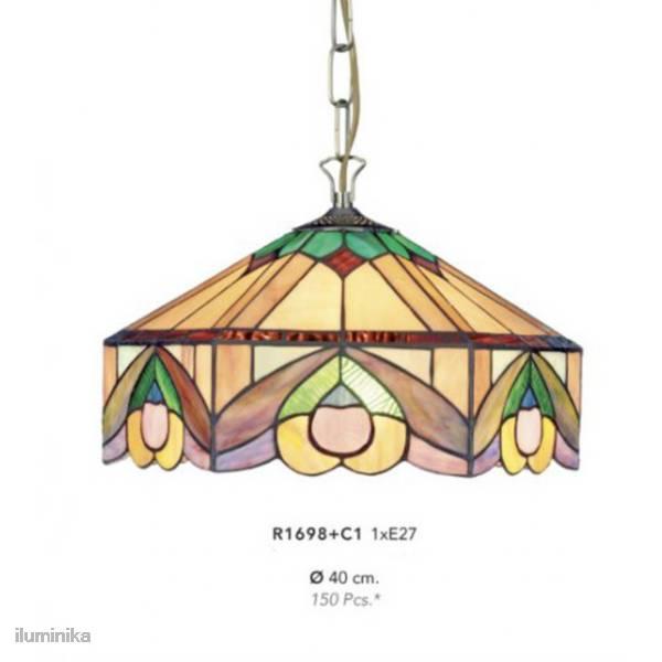 Lámpara Colgante Tiffany