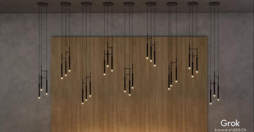 Fabricante de lámparas Leds-c4 / Grok, Iluminika